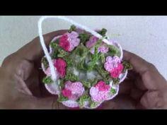 Cestinha em Crochê-Sachê para sabonete - YouTube Crochet Flowers, Make It Yourself, Artwork, Blog, Decor, Cool Crafts, Basket Weave Crochet, Amigurumi, Crochet Accessories