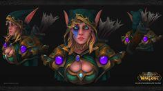 World of Warcraft Fan Art - Alleria Windrunner, Daniel Orive on ArtStation at http://www.artstation.com/artwork/world-of-warcraft-fan-art-alleria-windrunner-64756088-1e8f-4022-88f4-266832c5f224