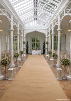 The beautiful ceremony room in the Orangery at St Audries Park. All flower designs by Bristol Florists, The Wilde Bunch Park Weddings, Wedding Events, All Flowers, Wedding Flowers, London Wedding, Bristol, Flower Designs, Elegant Wedding, Floral Design