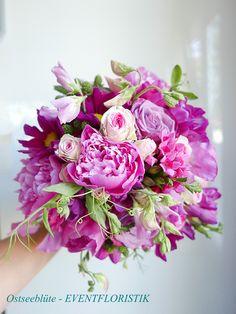 Brautstrauß rosè