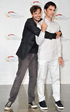 """Thomas Gibson Photos - Matthew Gray Gubler and Thomas Gibson (R) attend """"Criminal Minds"""" photocall during the Monte Carlo TV Festival at the Grimaldi forum on June 2011 in Monaco, Monaco. - Thomas Gibson Photos - 120 of 144 Criminal Minds Memes, Spencer Reid Criminal Minds, Dr Reid, Dr Spencer Reid, Thomas Gibson, Aaron Hotchner, Crimal Minds, Casting Pics, Chicago Fire"""