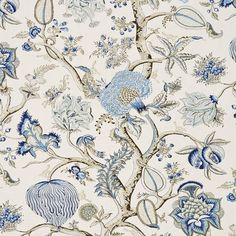 Shop the Pondicherry Linen Print Fabric at Perigold, home to the design world's best furnishings for every style and space. Plus, enjoy free delivery on most items. Floral Fabric, Linen Fabric, Linen Bedding, Bed Linens, Camo Bedding, Cushion Fabric, Drapery Fabric, Fabric Decor, Bedding Sets