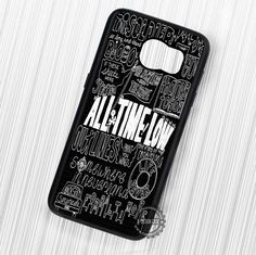 All Time Low Songs Title Art Quotes - Samsung Galaxy S7 S6 S5 Note 7 Cases & Covers