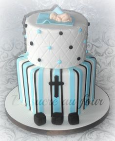 Cake Decorating New Westminster : 1000+ images about Baptism boy on Pinterest Baptism ...