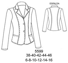 Blazer Free Printable Sewing Patterns, Sewing Jeans, Afghan Clothes, Sewing Clothes Women, Uniform Design, Sport Chic, Laura Lee, Work Fashion, Dressmaking