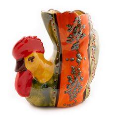 Spatelhouder om uw keuken op te fleuren. In handgeschilderde Spaans keramiek uit Cordoba.