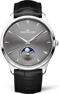 a90feb0f7dc Jaeger LeCoultre Watch Master Ultra Thin Moon White Gold Q1363540 Watch.  Relógios Swiss Para HomensRelógios ...