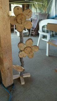 Dekoration aus Holz