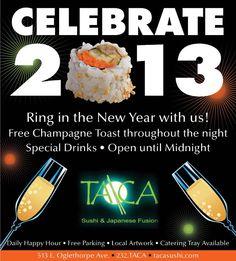 New Year's Sushi - http://wheretoeatsavannah.com/new-years-sushi/