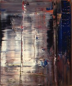 Gerhard Richter, Abstraktes Bild, Abstract Painting, 1990, 122 cm x 102 cm, Catalogue Raisonné: 720-5, Oil on canvas