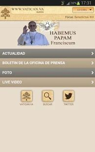 The App of the official website of the Holy See (www.va): it contains the Papal Magisterium and the institutional information of the Apostolic See. Video Ao Vivo, Android Apps, Google Play, Vatican, Communication, 1, Website, Statue Of, Apocalypse