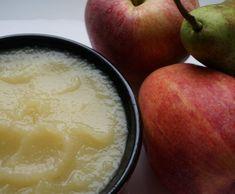 Recette Compote bébé pomme poire par MilleFrance - recette de la catégorie Alimentation pour nourrissons
