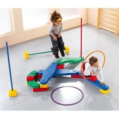 Wesco Kit Scogym 6 [Toy] by Wesco. $481.95. 4595020 Features: -2 Basic Boards.-1 Quarter Circle Board.-1 Multi-purpose Board.-6 Half Cubes.-5 Bricks.-2 Bumpers.-4 39'' Poles.-2 23.5''(diameter) Hoops.-For ages 3-6 years. Options: -Comes in a fabric carrying bag with detailed instructions. Specifications: -1 Wave Board.