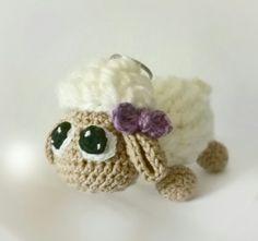 Crochet sheep amigurumi