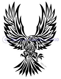 Eagle Tribal Tattoo By Tarkheki On Deviantart Design