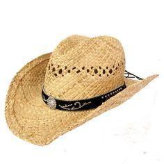 Nocona Raffia Scroll Band River Hat 7109801. katelynn walker · Hats · Cavender s  Raffia Vent Pinch Front with Brown Band Straw Cowboy ... 6bf902e5fe28