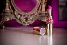 femme. Baroque inspired lipstick tube by Yves St. Laurent