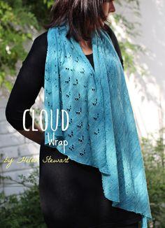 Ravelry: Cloud Wrap pattern by Helen Stewart