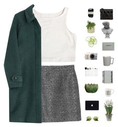 """""""Ha ha // hacked set by @samiikins yo"""" by nightcatcher ❤ liked on Polyvore featuring Monki, Cassia, Threshold, Sonia Kashuk, Burberry, Alexander Wang, Visionnaire, CB2, Paperchase and BULB"""