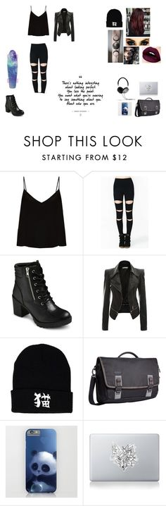"""""""Untitled #70"""" by juliab3638 on Polyvore featuring Raey, EASTON, Mon Cheri, Timbuk2, Vinyl Revolution and Frends"""