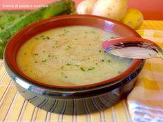 Crema di patate e zucchine