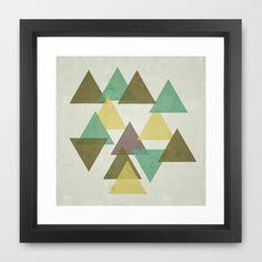 Triangles Print Minimalism