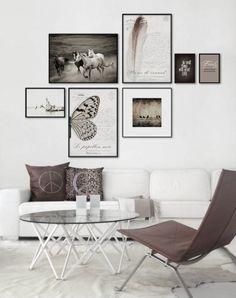 Det första jag skulle göra om jag hittade en större och finare lägenhet vore att sätta upp tavlor på väggarna. Lite svårt när man bor i en liten studentlägenhet där det inte ens är tillåtet att sätta upp saker på väggarna.