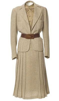 Jeanne Paquin Spring Suit 1937