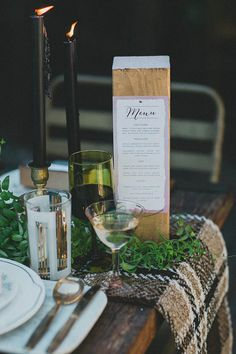 Masculine Industrial woodland wedding inspiration | Photo by megan from studio castillero | Read more - http://www.100layercake.com/blog/?p=68922