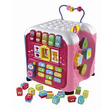 "Vtech Alphabet Activity Cube - Pink - Vtech - Toys ""R"" Us   $39.99"