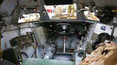 1955 Daimler Ferret Mark 2/3 / Armoured Scout Car / Interior | by Custom_Cab