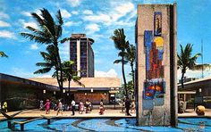 Ala Moana Shopping Center, back in the day.  This was a big deal when I lived there.