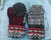 Felted Wool Mitts