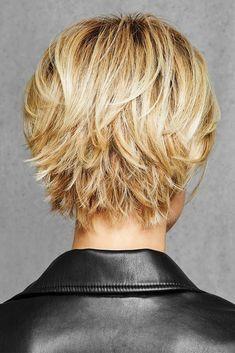 HairDo Wigs - Textured Fringe Bob - Back