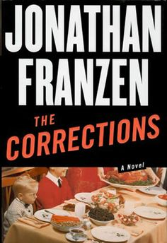 The Corrections (2001) by Jonathan Franzen, first edition book cover