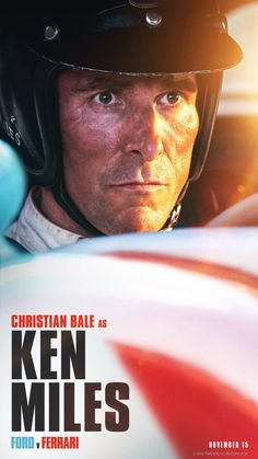 LE MANS 66 - Christian Bale as Ken Miles