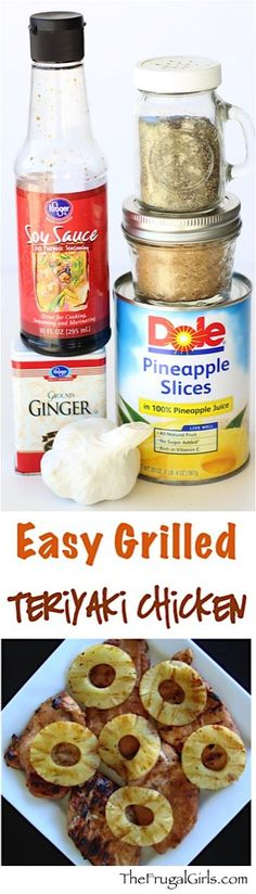Teriyaki Chicken Recipe! ~ from TheFrugalGirls.com ~ Fire up the grill! This delicious chicken marinade makes the BEST grilled chicken breasts! #recipes #thefrugalgirls