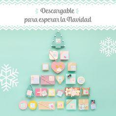 Calendario de adviento descargable #mrwonderfulshop #christmas #calendar
