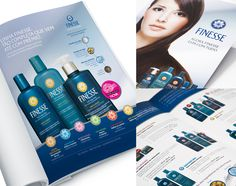 Até a raiz dos cabelos: campanha e PDV, para Finesse