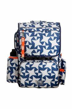 Lækre Ticket to Heaven skoletaske ensign blue/star   til Skoletasker til hverdag og fest