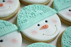 Santa Cookies by Party Cakes By Samantha