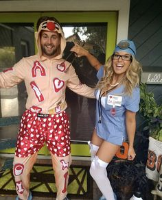 One of a kind couples halloween costumes agree