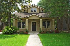 Craftsman Style - traditional - exterior - austin - by JOHN DANCEY Custom Designing/Remodeling/Building