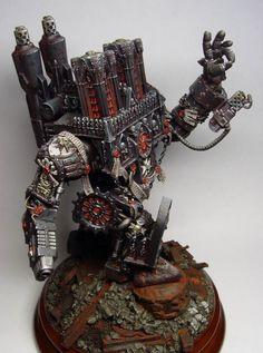 Black Templars Dreadnought #miniatures #warhammer40k #40k