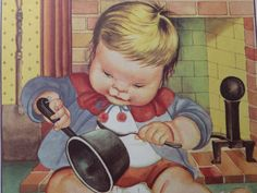 Eloise Wilkin Vintage Childrens Illustration