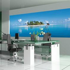 Ideal Decor Maldive Island Wall Mural - DM369