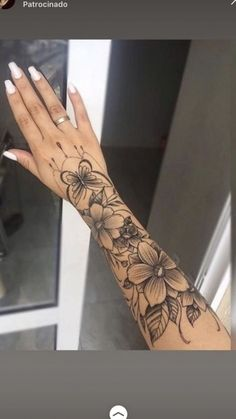 Get thousand ideas for your sexy tattoos. We present to you a selection of original tattoo designs ideas to bring you more inspiration for your tattoo. #smalltattoos #tattoo #tattoos Arm Sleeve Tattoos For Women, Dope Tattoos For Women, Tattoos For Guys, Roses Half Sleeve Tattoo, Butterfly Sleeve Tattoo, Flower Sleeve, Full Sleeve Tattoos, Feminine Tattoos, Girly Tattoos