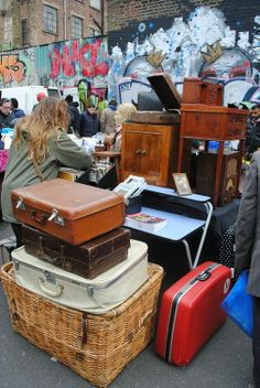 Brick Lane London sunday antique market