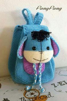 ✔ Handmade Toys For Kids Crochet Girls, Cute Crochet, Crochet For Kids, Crochet Crafts, Crochet Baby, Crochet Projects, Crochet Toys, Crochet Hippo, Crochet Bikini