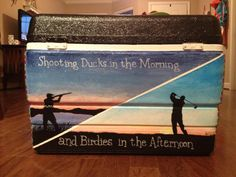 Shooting Ducks in the Morning and Birdies in the Afternoon